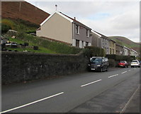 SS9389 : Cemetery Road houses, Ogmore Vale by Jaggery
