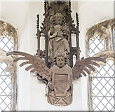 TL4196 : St Wendreda, March - Roof Angel by John Salmon