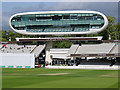 TQ2682 : Lord's Cricket Ground: the Media Centre by John Sutton