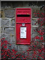 SE2248 : George VI postbox, Lindley Green by JThomas
