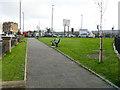 SD8913 : Wet Rake Gardens, Oldham Road, Rochdale by Stephen Craven