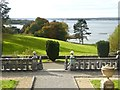 N4147 : Lough Ennell seen from the terrace of Belvedere House by Oliver Dixon