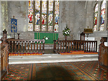 SP2160 : St James, Snitterfield - sanctuary by Stephen Craven
