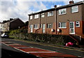 SS6696 : Row of three houses, Neath Road, Swansea by Jaggery