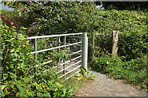 SX9066 : Entrance to Nightingale Park by Derek Harper