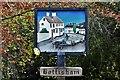 TL5460 : Bottisham: The village sign by Michael Garlick
