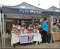 SJ9494 : Dionnebears on Hyde Market by Gerald England