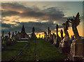 SD3212 : Liverpool Road Cemetery, Birkdale Nr Southport by Matt Harrop