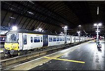 NS5965 : Class 365 train at Glasgow Queen Street station by Thomas Nugent