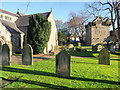 NY9864 : Graveyard at St. Andrew's Church by Trevor Littlewood