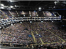 TQ3980 : The interior of the O2 Arena by Rod Allday