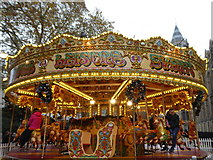 TQ2679 : Carousel in the grounds of the Natural History Museum by Rod Allday