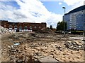 SJ9399 : Bus station rubble by Gerald England