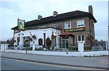 TQ1070 : The Hare and Hounds, Sunbury Common by David Howard