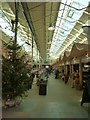 SO1091 : Newtown Market Hall at Christmas by Penny Mayes