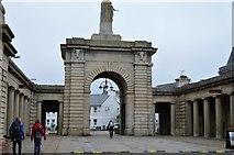 SX4653 : Royal William Yard - gateway by N Chadwick