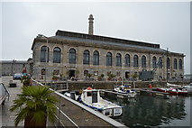 SX4653 : Royal William Yard - brewhouse by N Chadwick