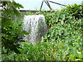 SX0455 : Eden Project - artificial waterfall by Stephen Craven