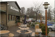 SK3336 : McDonald's, Markeaton Island by Mark Anderson
