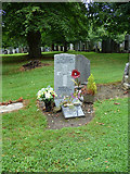 NS3421 : War grave in Ayr Cemetery by Thomas Nugent