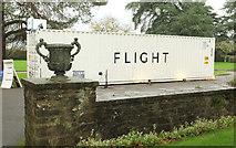 SX7962 : Flight, Dartington by Derek Harper