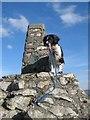 SO3698 : Trig pillar, Manstone Rock by Jonathan Wilkins