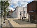 SJ8990 : Bollards on Bridgefield Street by Gerald England