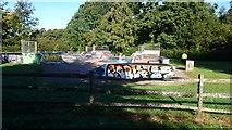 TQ5940 : Skateboard Park by John P Reeves