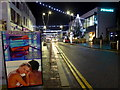 H4572 : Christmas lights, Market Street, Omagh by Kenneth  Allen