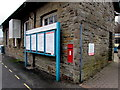 SO1107 : Information boards at the entrance to Rhymney railway station by Jaggery
