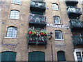 TQ3379 : Balcony in Shad Thames by Marathon