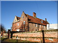 TG1309 : The Old Hall, Marlingford, II* listed by Adrian S Pye