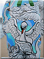SJ8097 : Swans a-Swimming by David Dixon