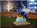 SJ8097 : Blue Bee-ter at MediaCityUK by David Dixon