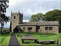 SD9350 : All Saints church, Broughton by Bill Harrison
