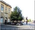 ST7564 : Bike parking area, Railway Place, Bath by Jaggery