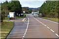 NN7097 : Layby 106, Southbound A9 by David Dixon