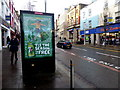 H4572 : 7up scrolling display, High Street, Omagh by Kenneth  Allen