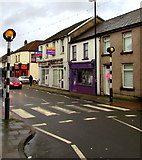 ST1195 : Zebra crossing, Commercial Street, Nelson by Jaggery