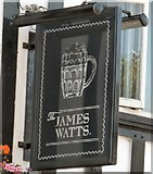 SJ8588 : Sign of the James Watts by Gerald England
