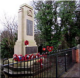 ST1195 : Nelson War Memorial by Jaggery