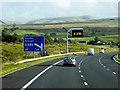 NY6105 : Southbound M6 near Tebay by David Dixon