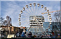 J3374 : Ferris wheel, the Art College, Belfast - December 2018(1) by Albert Bridge