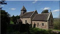 SO4313 : Llanfihangel Ystum Llewern - St Michael's Church by Colin Park
