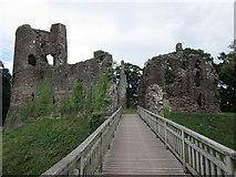 SO4024 : Grosmont Castle by Jonathan Thacker