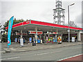 NY4154 : Harraby Green Service Station (2) by Rose and Trev Clough