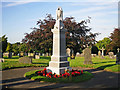 NY4153 : Upperby War Memorial by Rose and Trev Clough