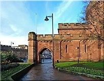 NY4055 : Carlisle Citadel by Mary and Angus Hogg