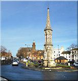 SP4540 : Banbury Cross by Des Blenkinsopp