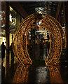 SX9292 : Christmas arch, Princesshay, Exeter by Derek Harper